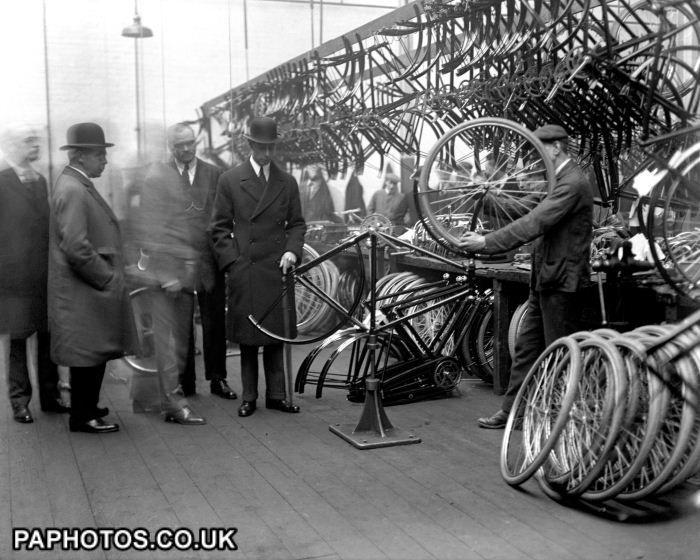 Royalty Duke Of York Raleigh Bicycle Factory Nottingham