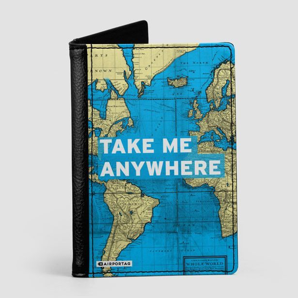 Take me world map passport cover passport cover and products protect the most important of your documents with this awesome faux leather passport holder keep your passport looking new and protected while you travel gumiabroncs Image collections