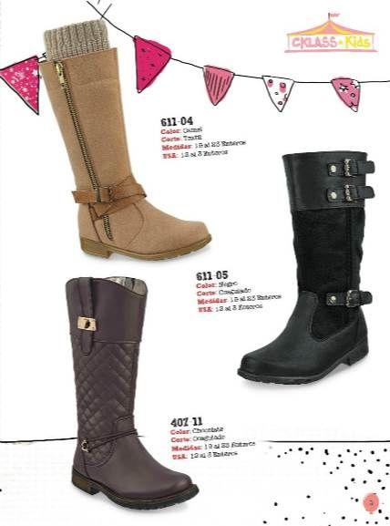 a941f51b Botas largas para niñas #Cklass. | botas | Catalogos cklass, Zapatos ...