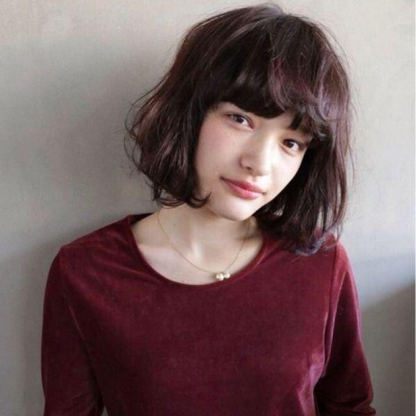 2015秋の流行色 マルサラ 赤茶 のヘアスタイルカタログ Curet