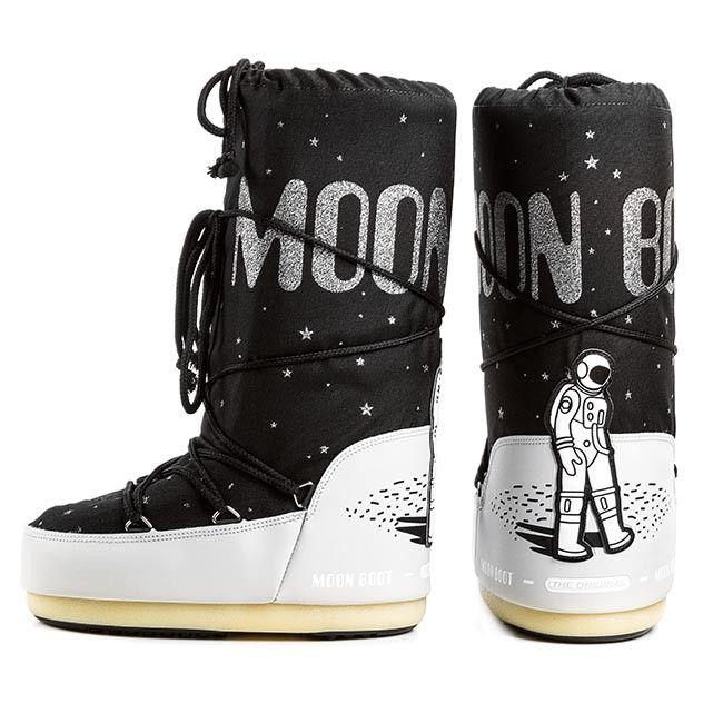 Moon Boot Space Boot Black $140. Beige