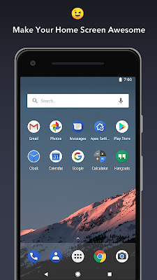 Apex Launcher Mod Pro Unlocked Apk For Android Approm Org Mod Free Full Download Unlimited Money Gold Unlocked Application Android Themes App Custom Phone