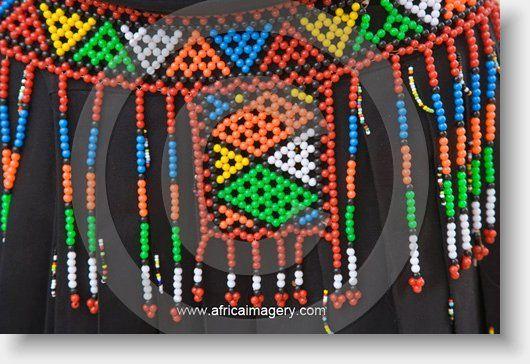 beading zulu skirts zulu s skirt showing beadwork