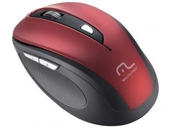 Mouse Sem Fio Óptico 1600dpi Multilaser Comfort Fios