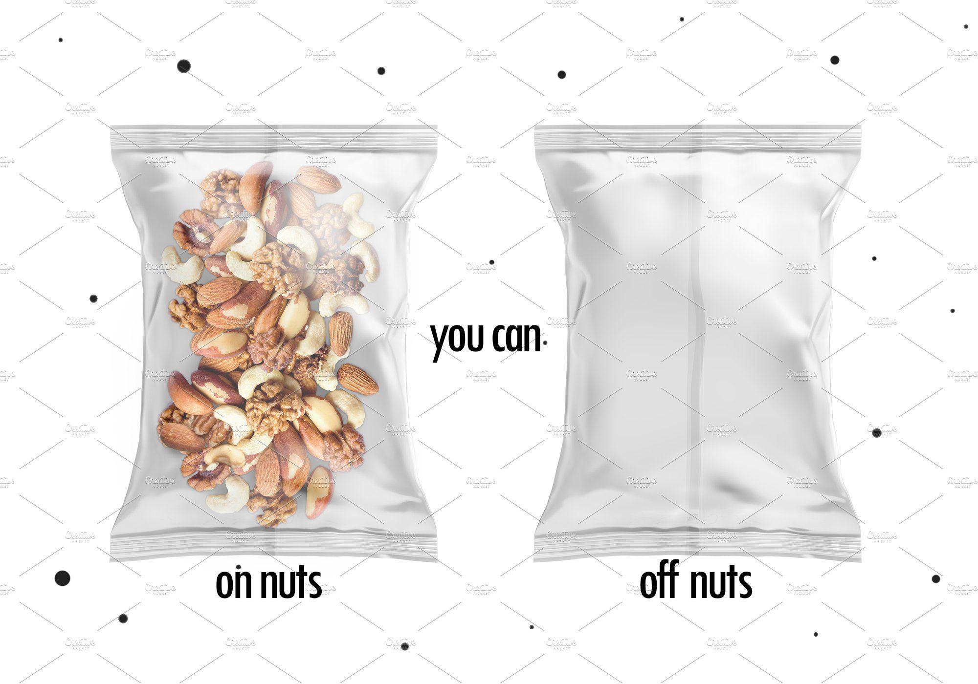 Download Nuts Bag Mockup Bag Mockup Mockup Cool Words