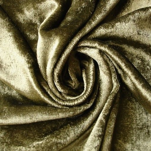 WHOLESALE OFFER 10% OFF - 6 Yards Olive Green Velvet Fabric #velvetupholsteryfabric