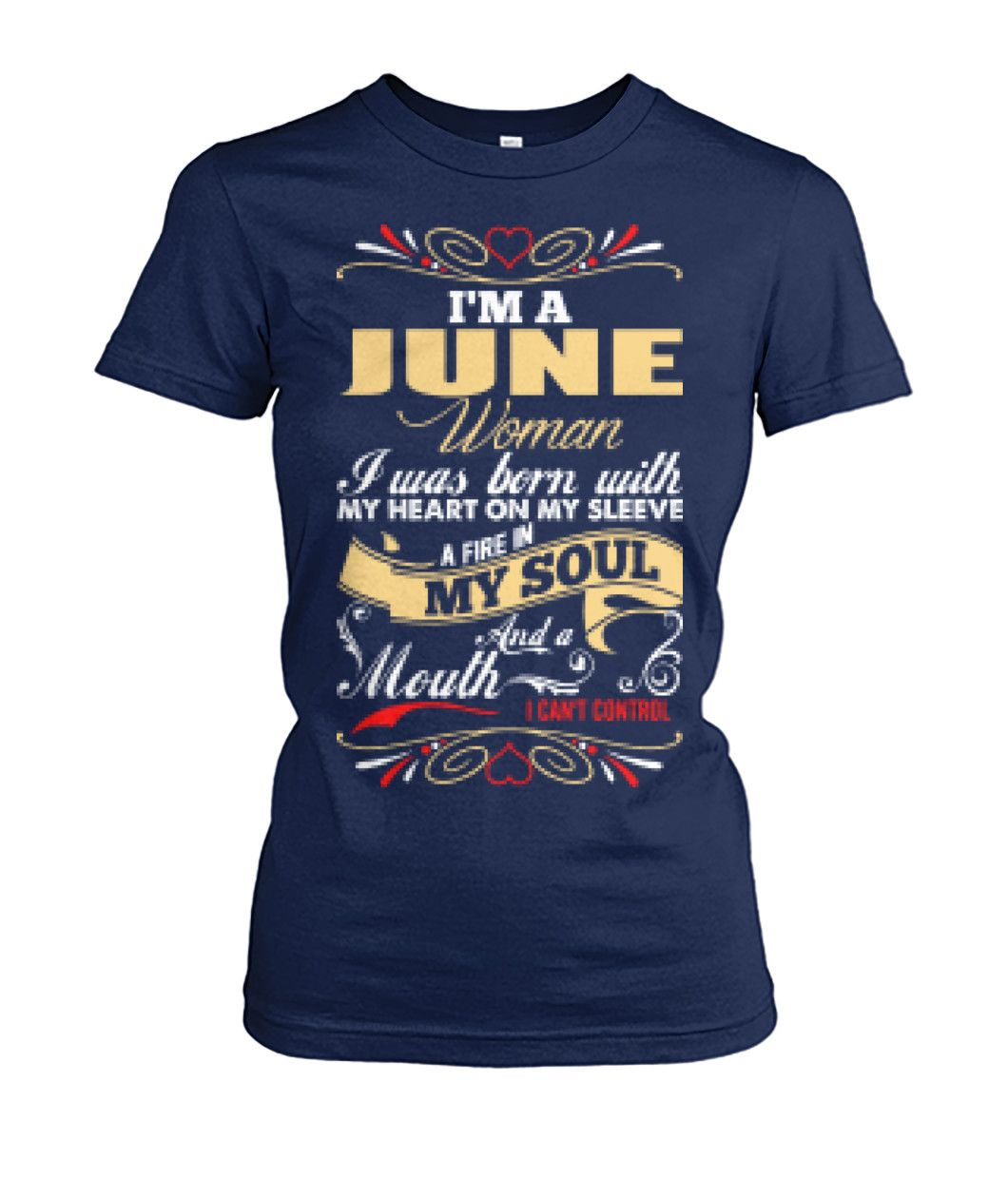 I'm A June Woman T-Shirt