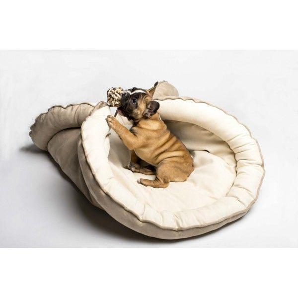 cannolo coussin duvet contemporain pour chien sleeping bag pour chien preppy pets de. Black Bedroom Furniture Sets. Home Design Ideas