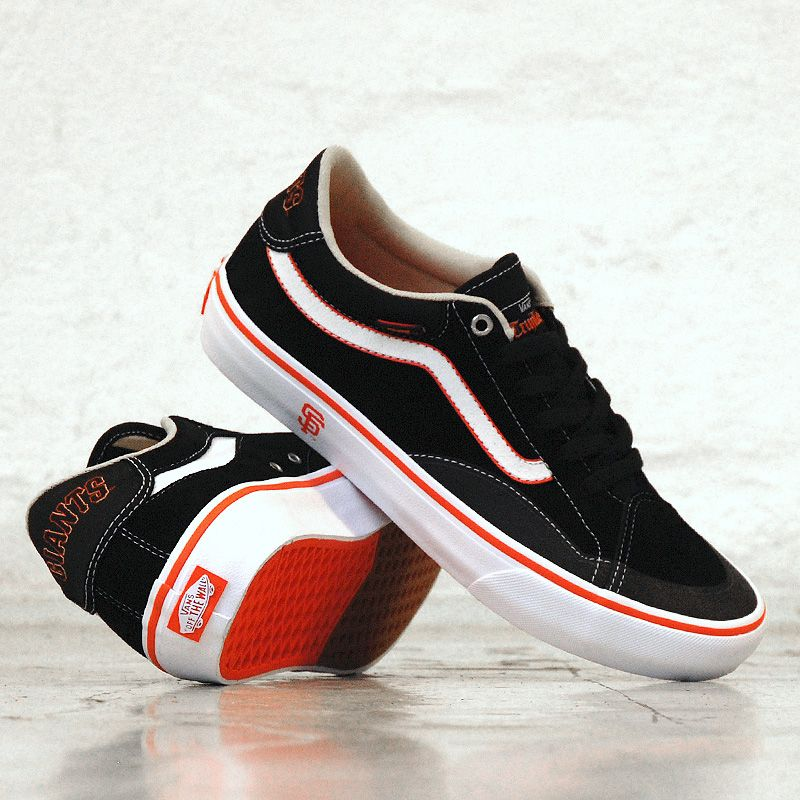 Vans TNT Advanced Prototype (SF Giants) Black, Vans Tony
