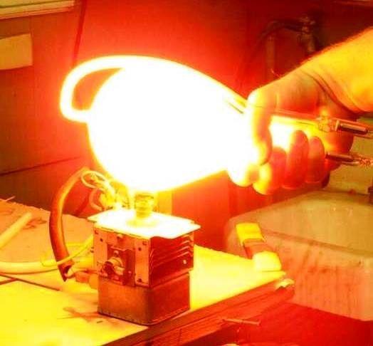 Make a Microwave Gun (HERF Gun) | Made | Microwave, Table