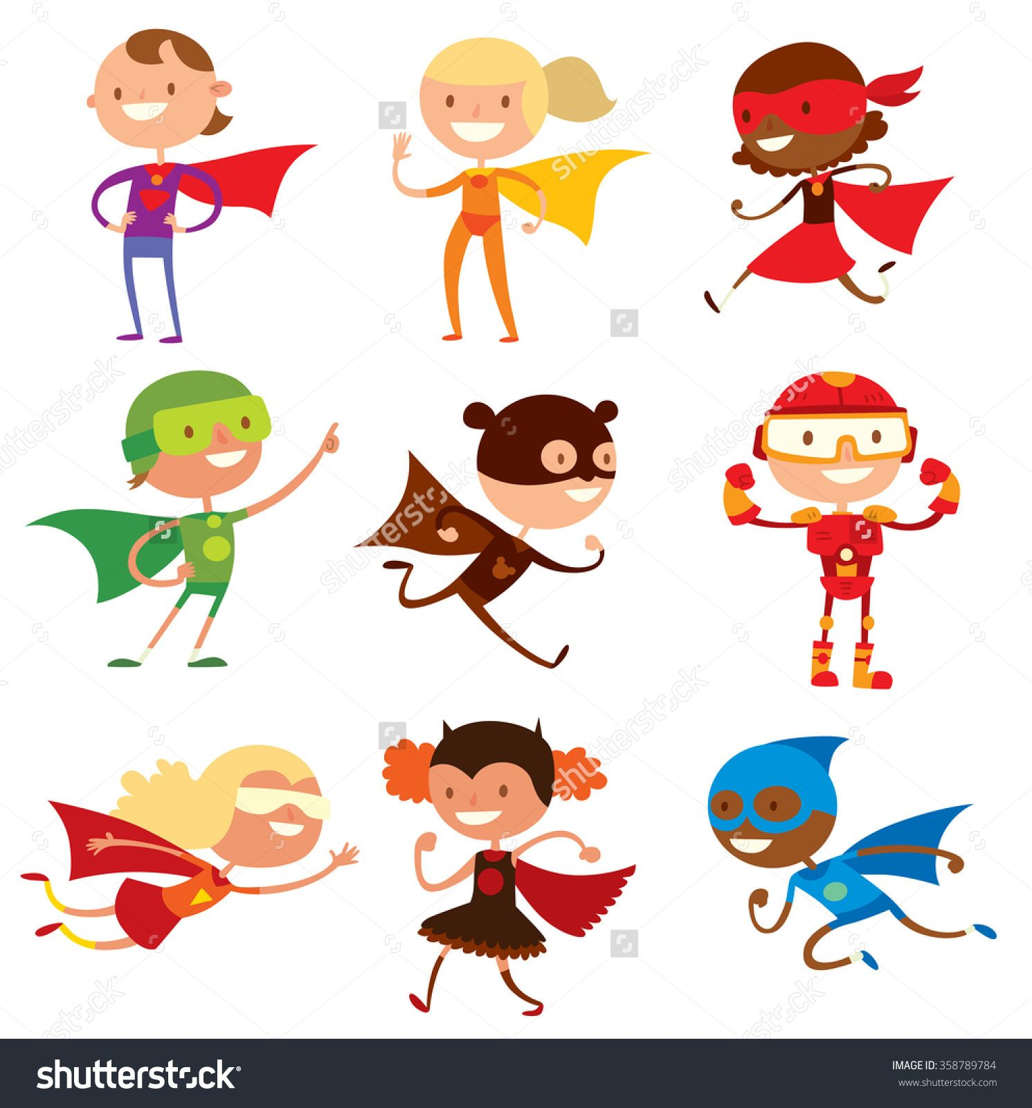 superhero and children If there's one thing kids love, it's superheroes these caped crusaders are the beacon of good, shining a spotlight on evil it's no wonder my kids want to be a superhero helping people out, making them feel safe, and being an overall awesome person - all things that make a person feel good nevermind all the mutants and aliens that become superheroes, your kiddo doesn't need anything.