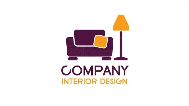 Interior design ready made logo designs 99designs for Home interior design company