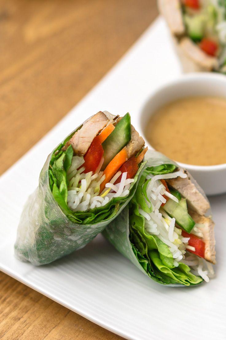 Vietnamese Spring Rolls Recipe Spring Rolls Vietnamese Spring Rolls Healthy Spring Rolls