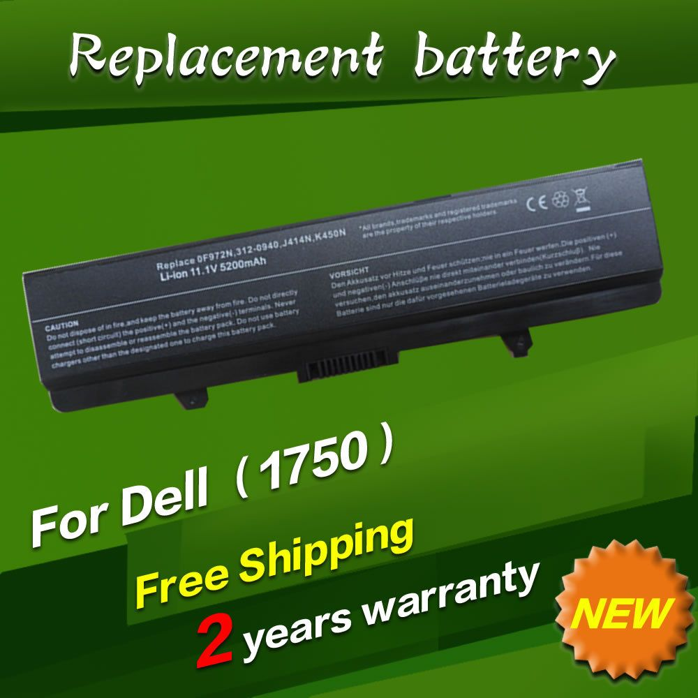 Jigu Replacement Laptop Battery For Dell Inspiron 1440 1750 0f972n Keyboard Series 312 0940 J414n K450n 6cells