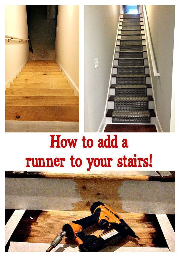 Best How To Add A Runner To Stairs Bloggers Best Diy Ideas 400 x 300