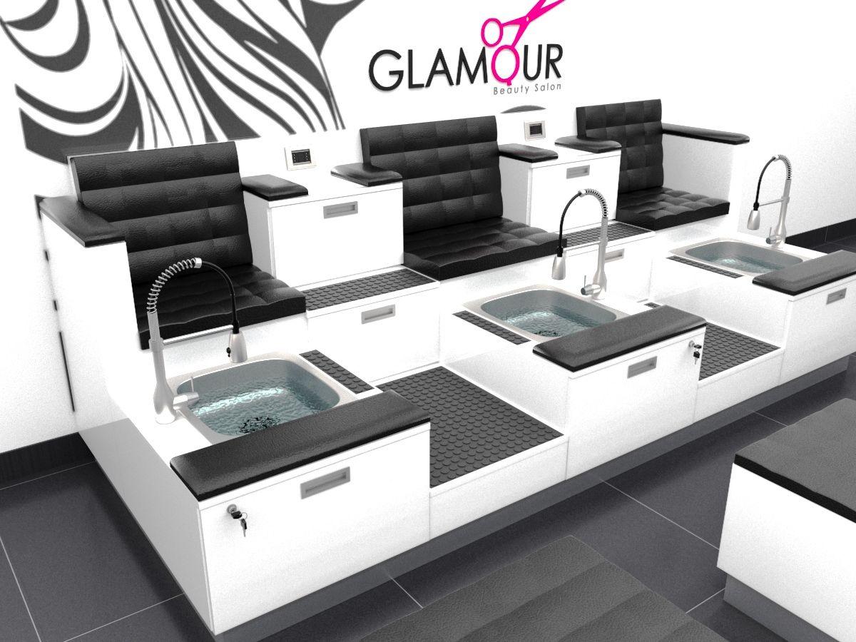 Muebles para salones de belleza, muebles para spa, muebles ...
