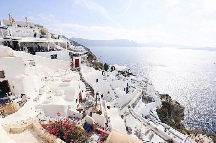 جزيرة سانتوريني اليونان Travel Santorini Landmarks