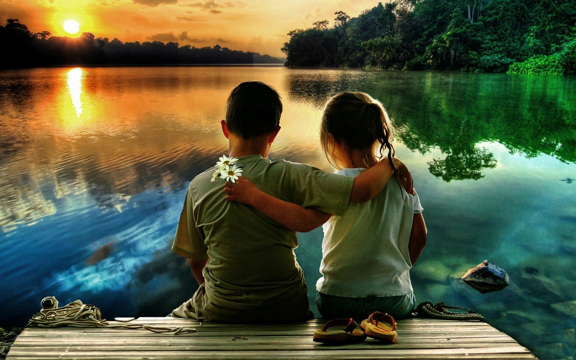 childhood friendship boy and girl | love hd wallpapers free download