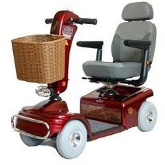 Shoprider Sunrunner 4 Wheel Scooter Blue -- This is an