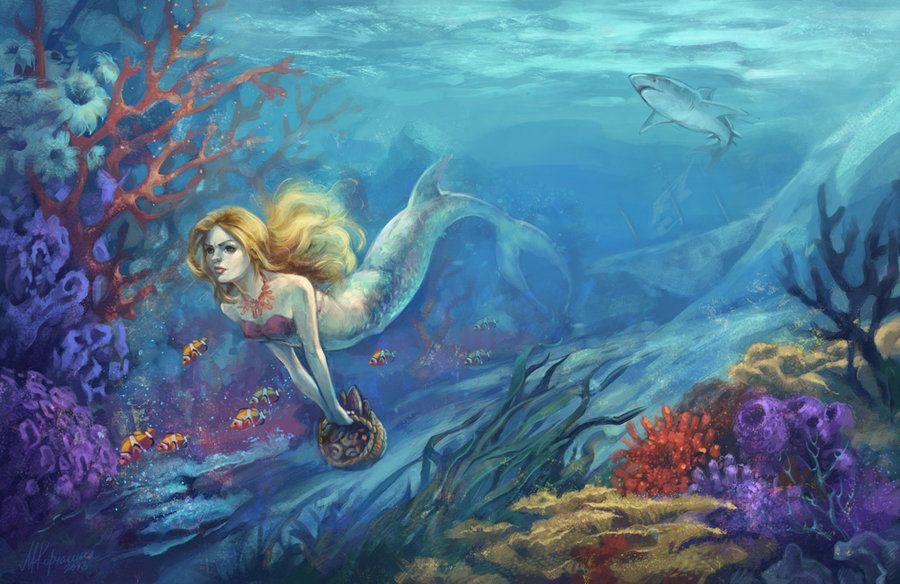сказка с картинками морская