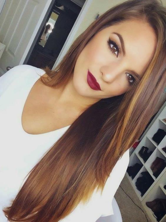 Karamel Sac Rengi Sac Modelleri Ombre Karamel Sac Renkleri Caramel Hair Color 5 Uzun Sac Sac Stilleri Duz Sac