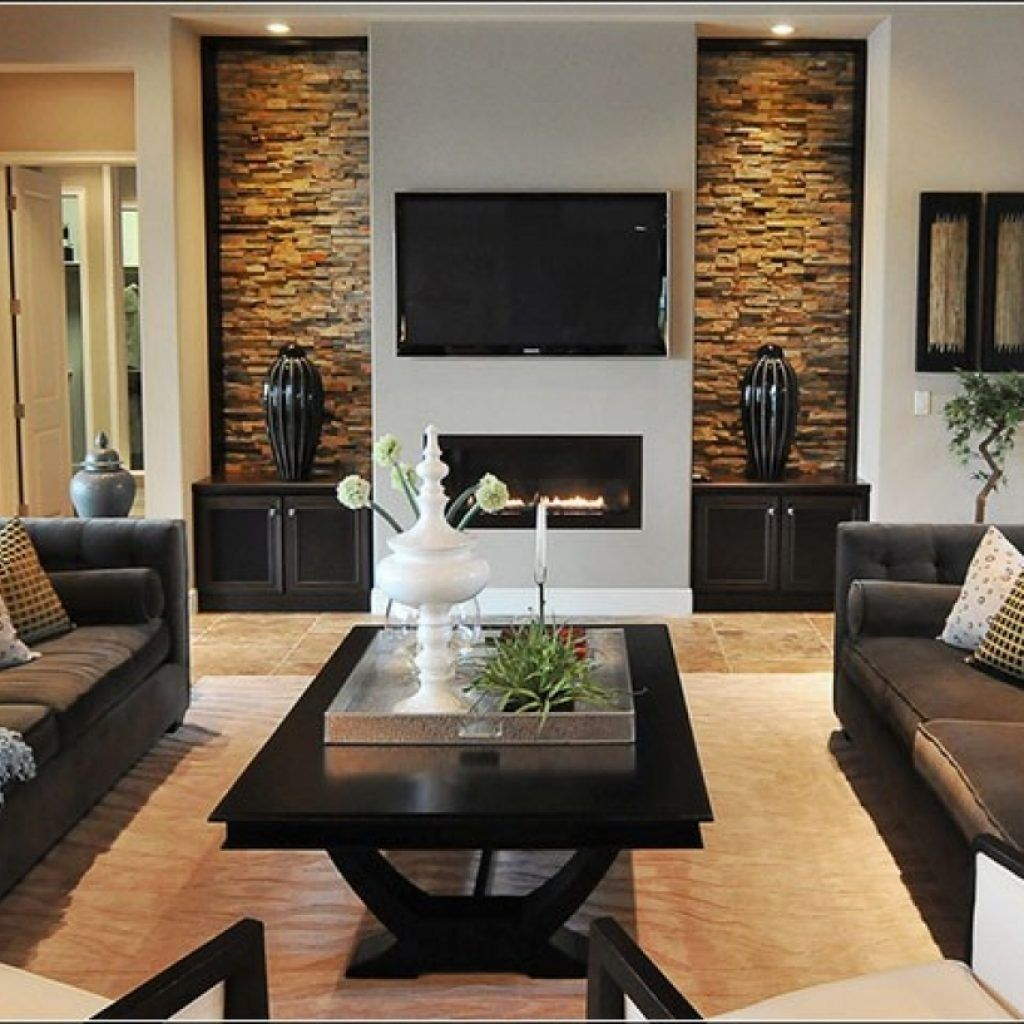 Living Room Interior Design In Low Budget Dec 6 2019 Decorating Idea In 2020 Stone Wall Living Room Contemporary Living Room Design Interior Inspiration Living Rooms