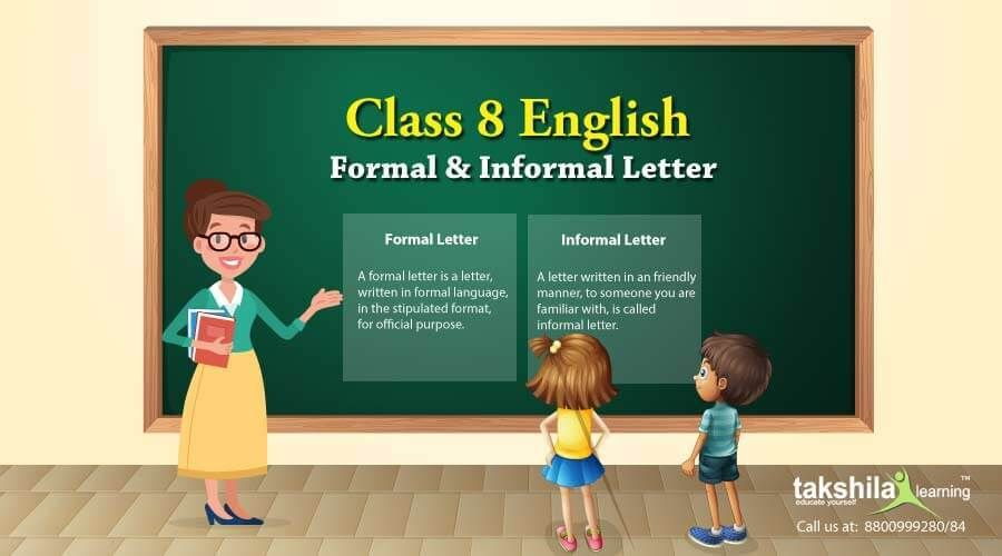 Class 8 English Letter Writing Samples For Formal And Informal
