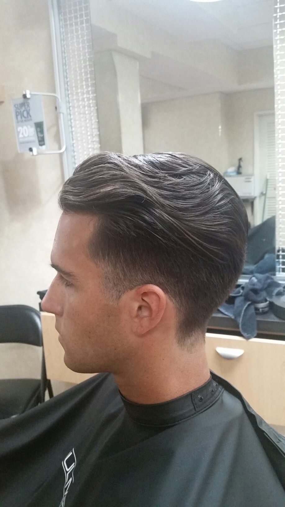 long undercut taper natural fade #supercuts 101 summer