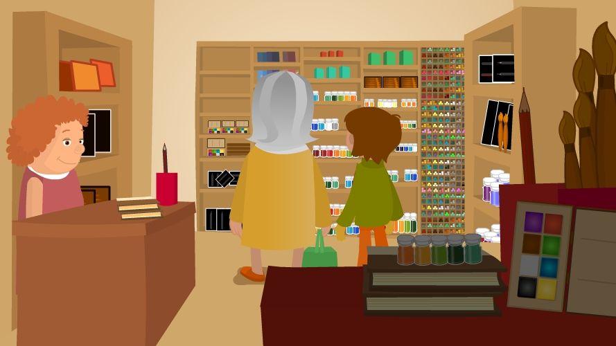 Dibujos animados. Aprende los colores en Inglés con Phizz