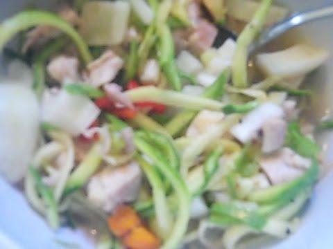 Chicken noodle soup low carb