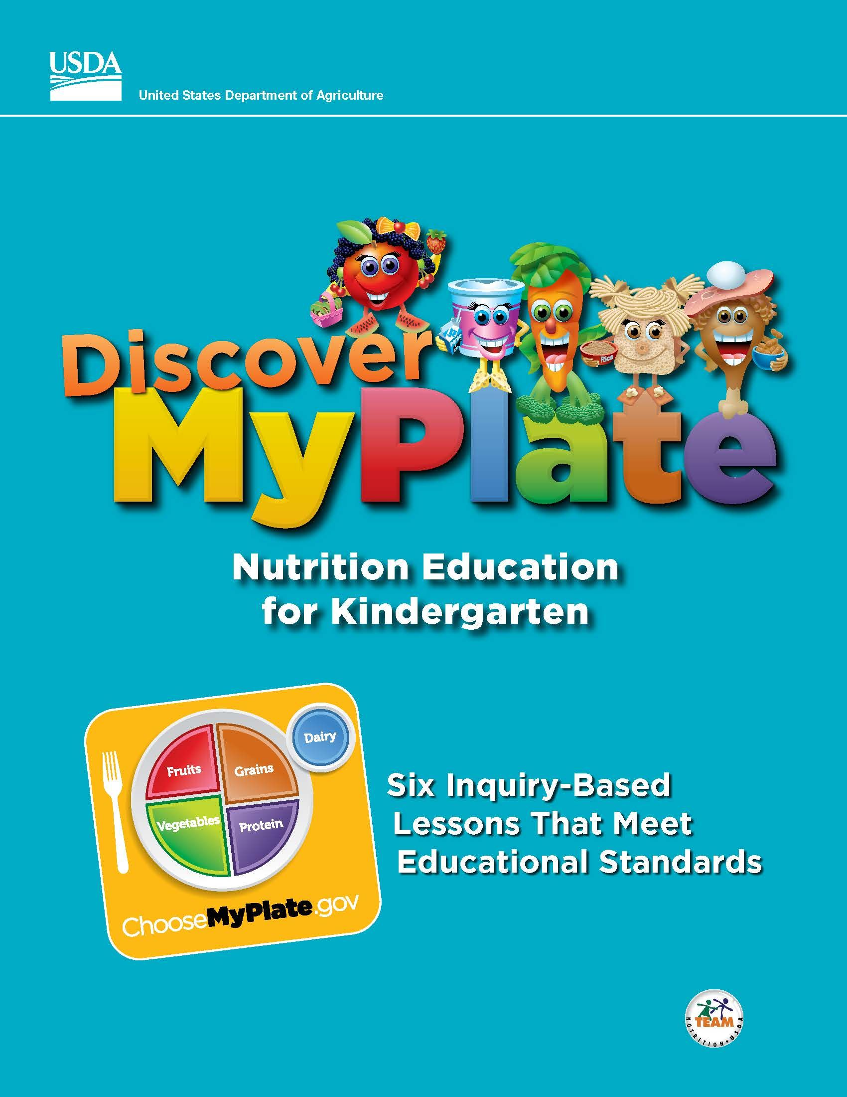 Free Discover Myplate Nutrition Education Lessons For