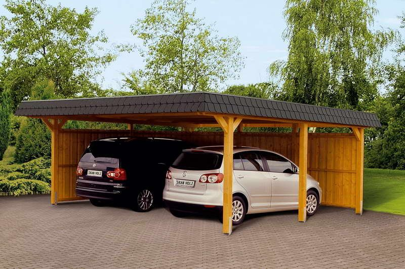 Alternatives plans for the carport designs wooden carport for 4 car carport plans