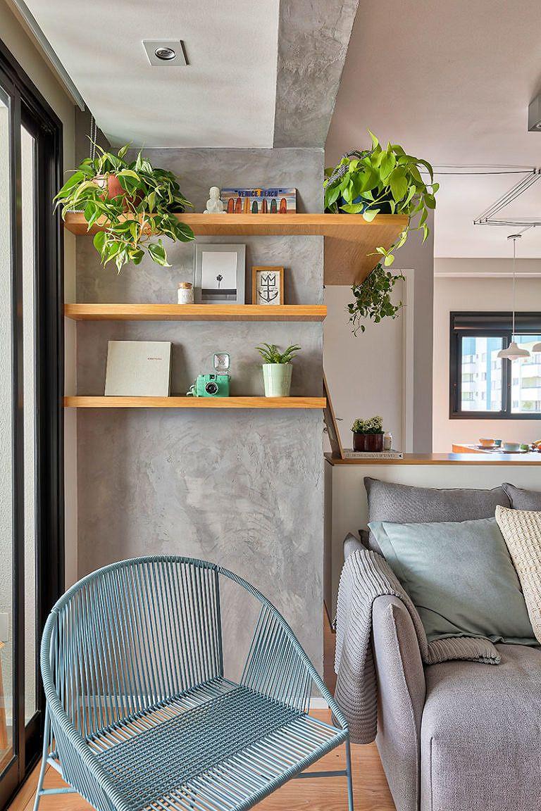 Pequeno E Personalizado Decoracao Apartamento Pequeno Decoracao