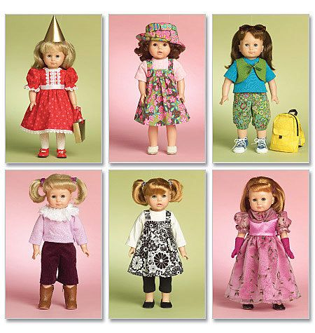 New Pattern 6370 Doll Clothes Spring//Summer Fun Fit 18 inch American Girl