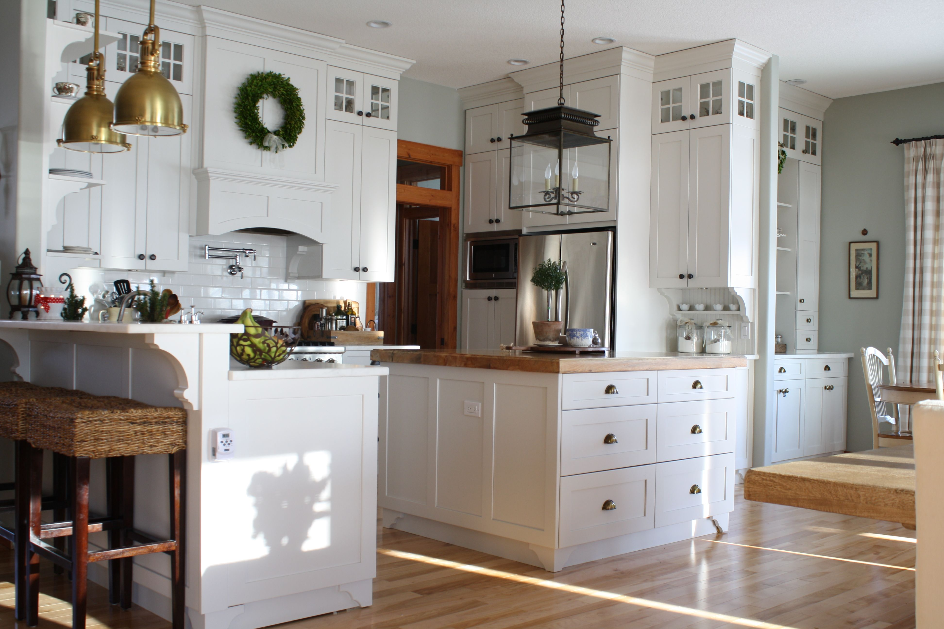 Canadian Cottage Holly Mathis Interiors Diy kitchen