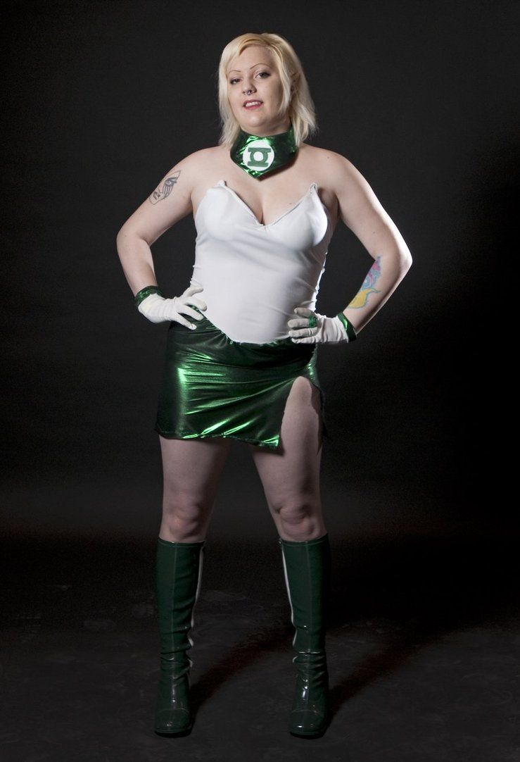 Arisia Rrab, Green Lantern of Sector 2815 by PinkCarbon # ...
