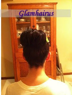 Updo and Hair Accessory by Gina of Glamhairus