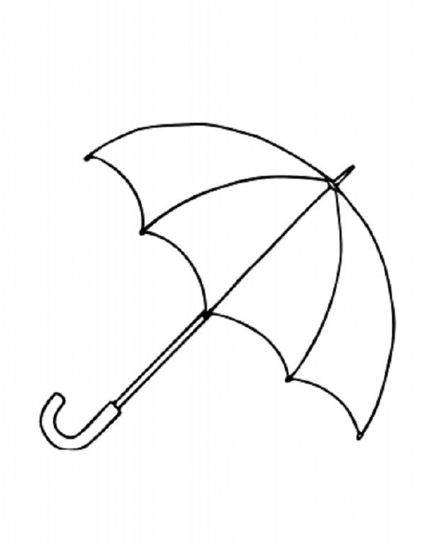Free Umbrella Template Printable Download Free Clip Art Free Clip Art On Clipart Library Umbrella Coloring Page Summer Coloring Pages Umbrella Template