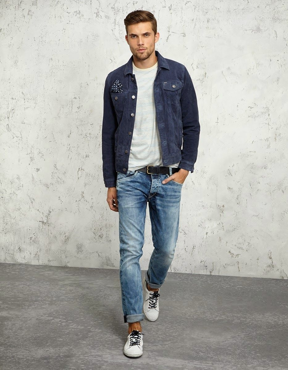 PEPE JEANS LONDON , Collection homme Printemps Eté 2015. Style VestimentaireÉlégante