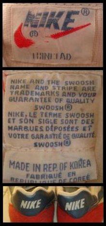 Vintage Fashion Guild Label Resource Nike In 2020 Labels Nike Terme