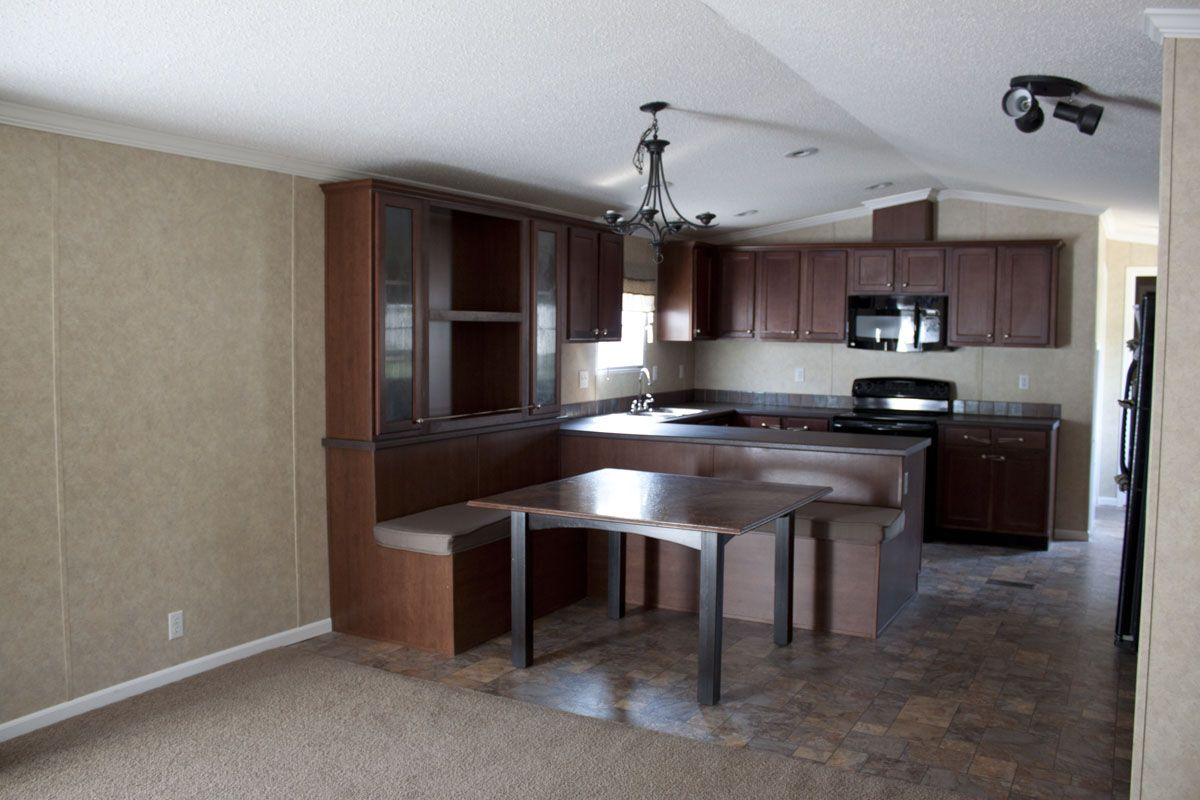 Mobile Home Remodeling Ideas Built In Seating So Clever And Cute Remodeling Mobile Homes Mobile Home Renovations Single Wide Mobile Homes