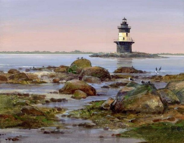 Orient Point Lighthouse Long Island Youtube