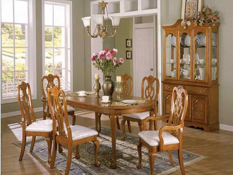 Oak Dining Rooms Pictures  18 Photos Of The How To Design Oak Magnificent Dining Room Chairs Oak Design Ideas