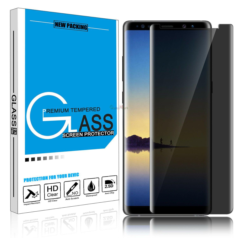 For Samsung Galaxy Note 10 9 8 Privacy Anti Spy Tempered Glass Screen Protector Samsung Galaxy Samsung Samsung Galaxy Note 8