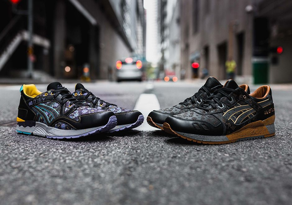 Limited Edt Asics Vanda Kuro Pack Gel Lyte Iii Gel Lyte V With
