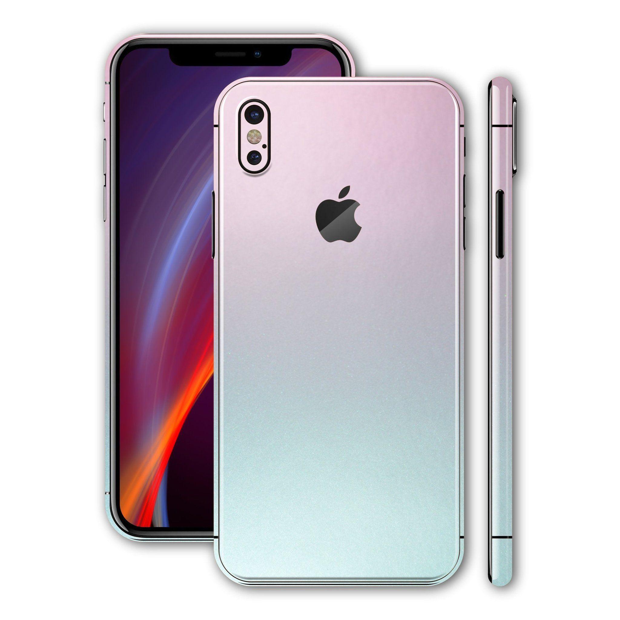 iPhone XS MAX CHAMELEON AMETHYST MATT Metallic Skin