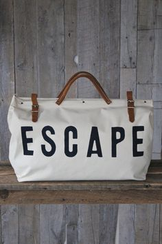 To Besties Escape Canvas Utility Bag By Forestbound Sacs De Week End