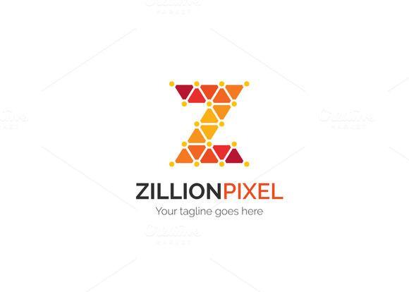 Zillion Pixel Letter Z Logo Logos, Logo design template and Letter - new zulu formal letter format