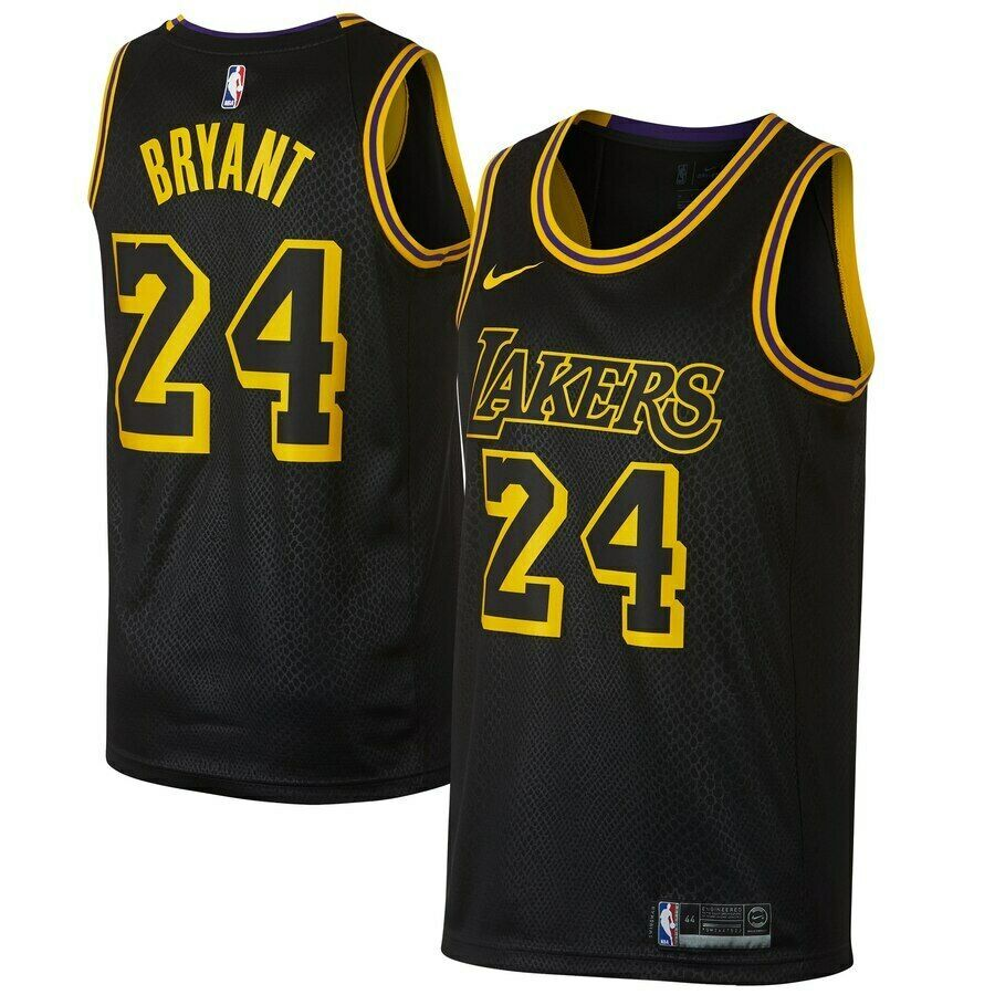 Kobe Bryant 24 Los Angeles Lakers Men S Black City Edition Jersey Jerseys For Cheap In 2020 Kobe Bryant 24 Kobe Bryant Lakers Kobe Bryant