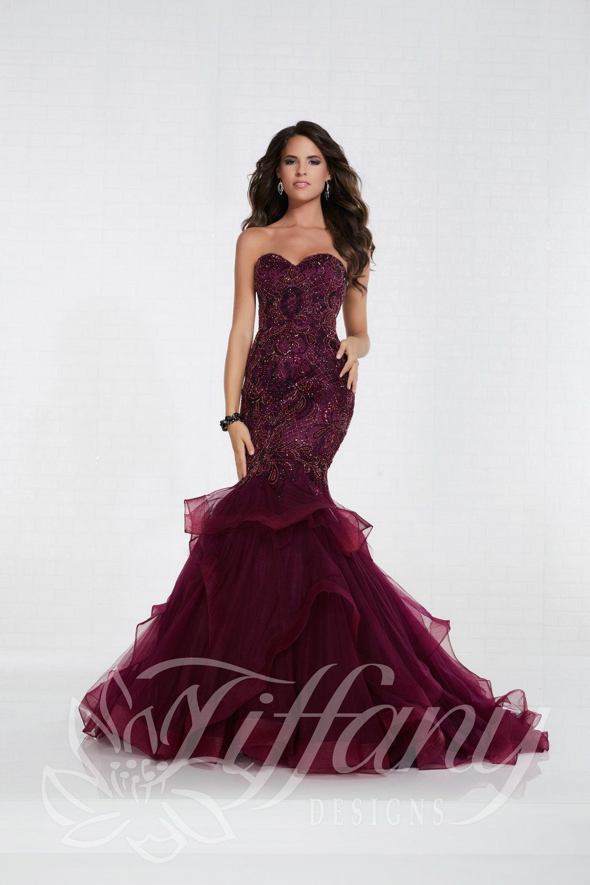1d7093e4631 Looks We Love Tiffany 16296 - Mermaid Dresses